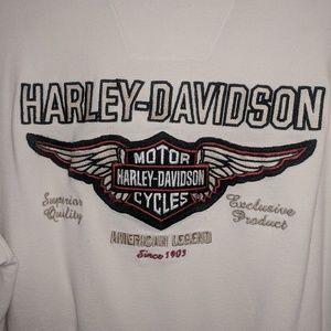 Harley Davidson embroidered shirt, large